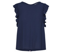Bluse 'capsleeve Blouse' navy