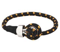 Armband 'Sport' orange / schwarz