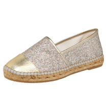 Slipper 'Mar 128' beige / gold