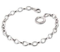 Charms-Armband 'erb-195' silber