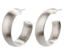 Earrings 'Garnet' silber