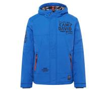 Jacke blau / schwarz