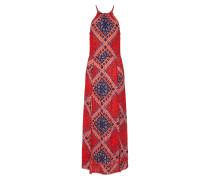 Kleid 'boho Maxi Dress' karminrot