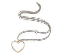 Kette 'Unchain My Heart' gold / silber