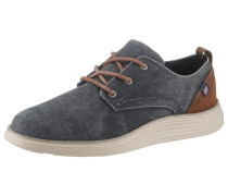 Sneaker 'Pexton' navy / braun / weiß