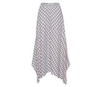 Skirt 'Check' ecru / blau / weiß