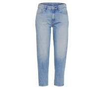 High Waist Jeans 'Boyfriend' blau
