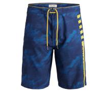 Badeshorts blau / hellblau / gelb
