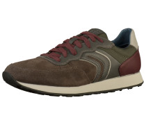 Sneaker dunkelbraun / basaltgrau
