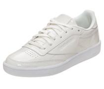 Sneaker 'club Patent' weiß