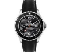 Uhr schwarz / grau