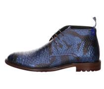Stiefel blau / schwarz