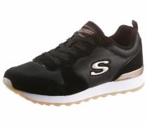 Sneaker 'Goldn gurl' gold / schwarz
