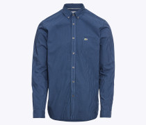 Hemd blau / dunkelblau