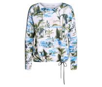 Pullover royalblau / dunkelblau / grün / weiß
