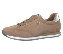 Sneaker nude / silber
