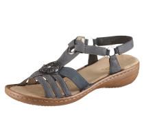 Sandale braun / dunkelgrau