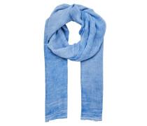 Cold-Dye-Schal blau