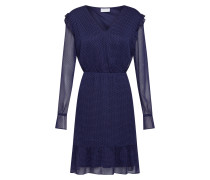 Kleid 'Dotly' navy