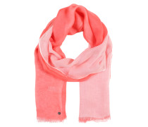 Schal lachs / rosa