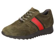 Sneaker ' Oseka-700-J ' khaki / rot