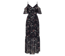 Kleid hellblau / schwarz