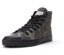 Sneaker grau / oliv / schwarz