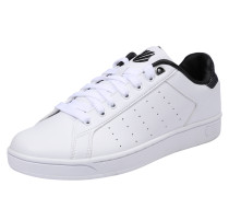 Sneaker 'Clean Court' schwarz / weiß