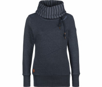 Sweater ' Viola W ' navy / weiß