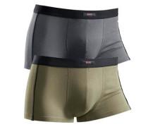 Boxer grau / khaki / schwarz