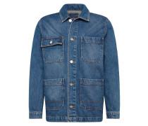 Jacke 'Gavin jacket' blue denim