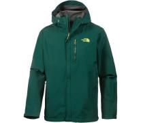 'dryzzle' Funktionsjacke dunkelgrün