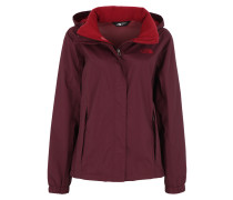 'resolve 2' Jacke bordeaux