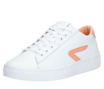 Sneaker 'l31' pfirsich / weiß