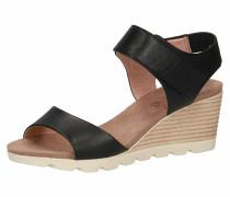 Sandalette schwarz / braun