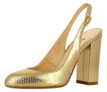 Sling Pumps gold