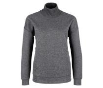 Turtleneck-Sweatshirt dunkelgrau
