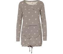 Sweatshirt braun / weiß