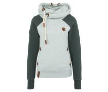 Sweatshirt 'So Ein Otto' mint / tanne