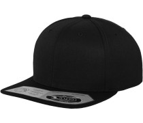 Snapback '110 Fitted' schwarz