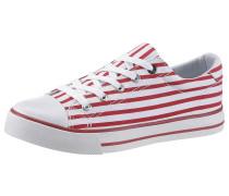 Sneaker feuerrot / weiß