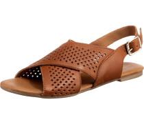 Sandale 'Kacy' ocker