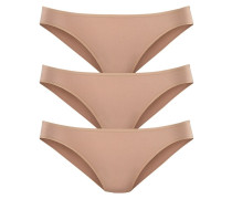 Bikinislip (3 Stck.) nude