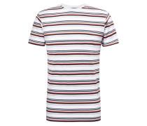 T-Shirt 'Gerrard' weiß / mischfarben
