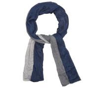 Schal nachtblau / grau