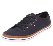 Sneaker nachtblau / braun