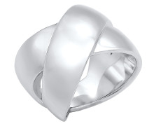 Ring Bandring silber