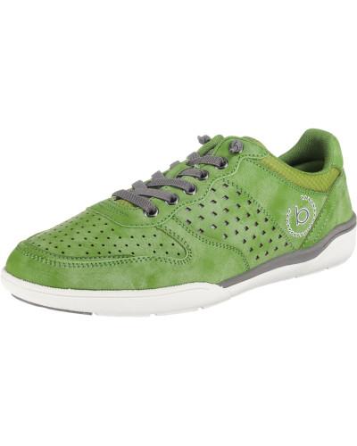 Sneaker grau / apfel