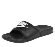 'benassi' Sandalen schwarz / weiß