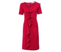 Bodyform-Etuikleid rubinrot